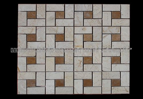 Beige Pattern Brick Polished 2.3x4.8