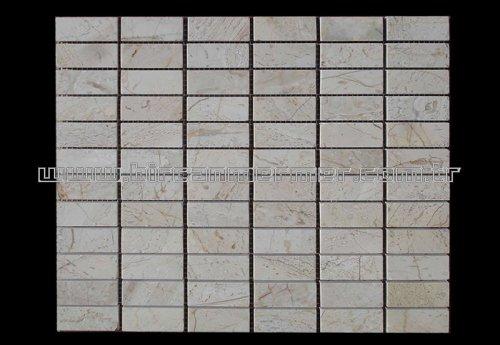 Beige Flat Brick Polished