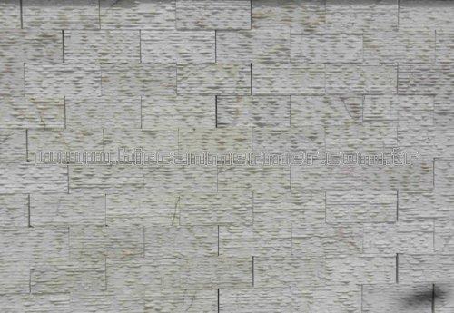 Cream Nova Beige Strip Blast Marble