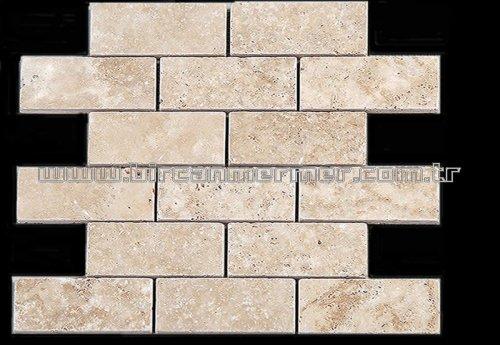 Light Travertine Big Brick Tamburlu