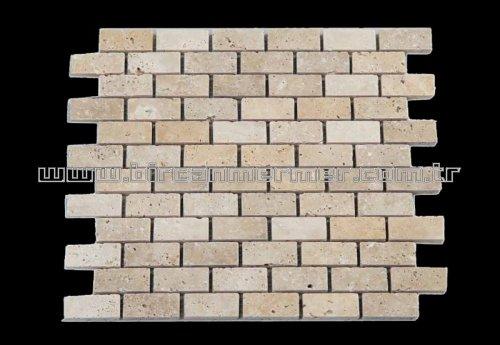 Light Travertine Brick Vintage 2.3x4.8
