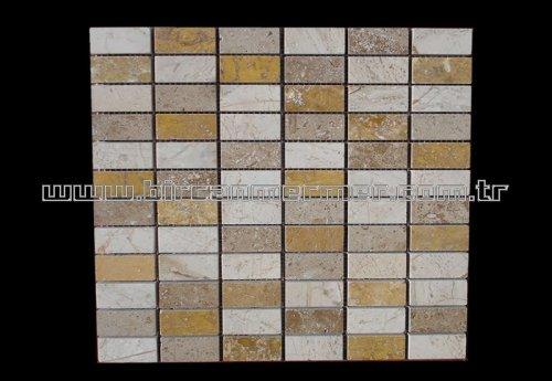 Mix Flat Brick Polished 2.3x4.8