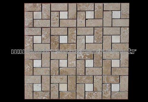 Noce Pattern Brick Polished 2.3x4.8