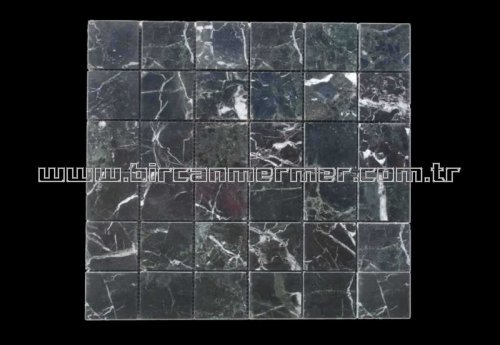 Petrol Black Polished 4.8x4.8