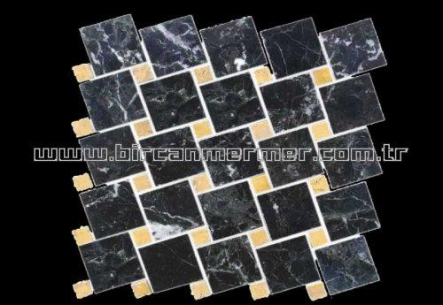 Petrol Black Tiktak 4.8x4.8