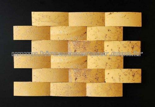 Yellow Travertine Arche 3D