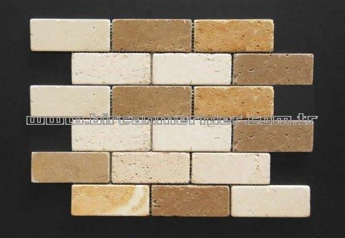 Travertine Mix Brick