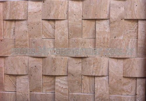 Turco Travertine 3D 4.8x10 Pattern