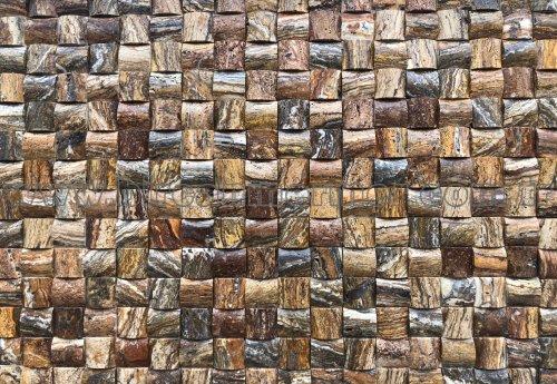 Ağaç Kabuğu Traverten (4,8X4,8) BOMBELİ