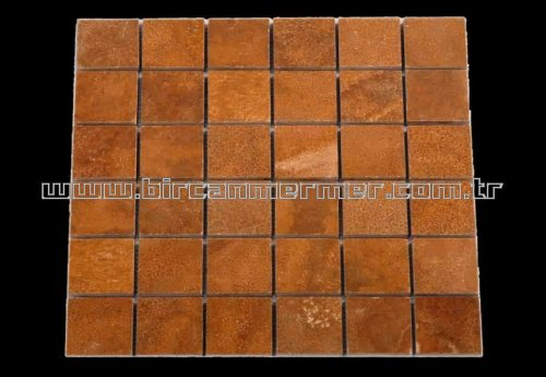 Kahverengi Oniks Cilalı 4.8x4.8