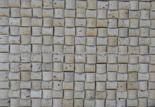 Light Traverten Molding Mozaik